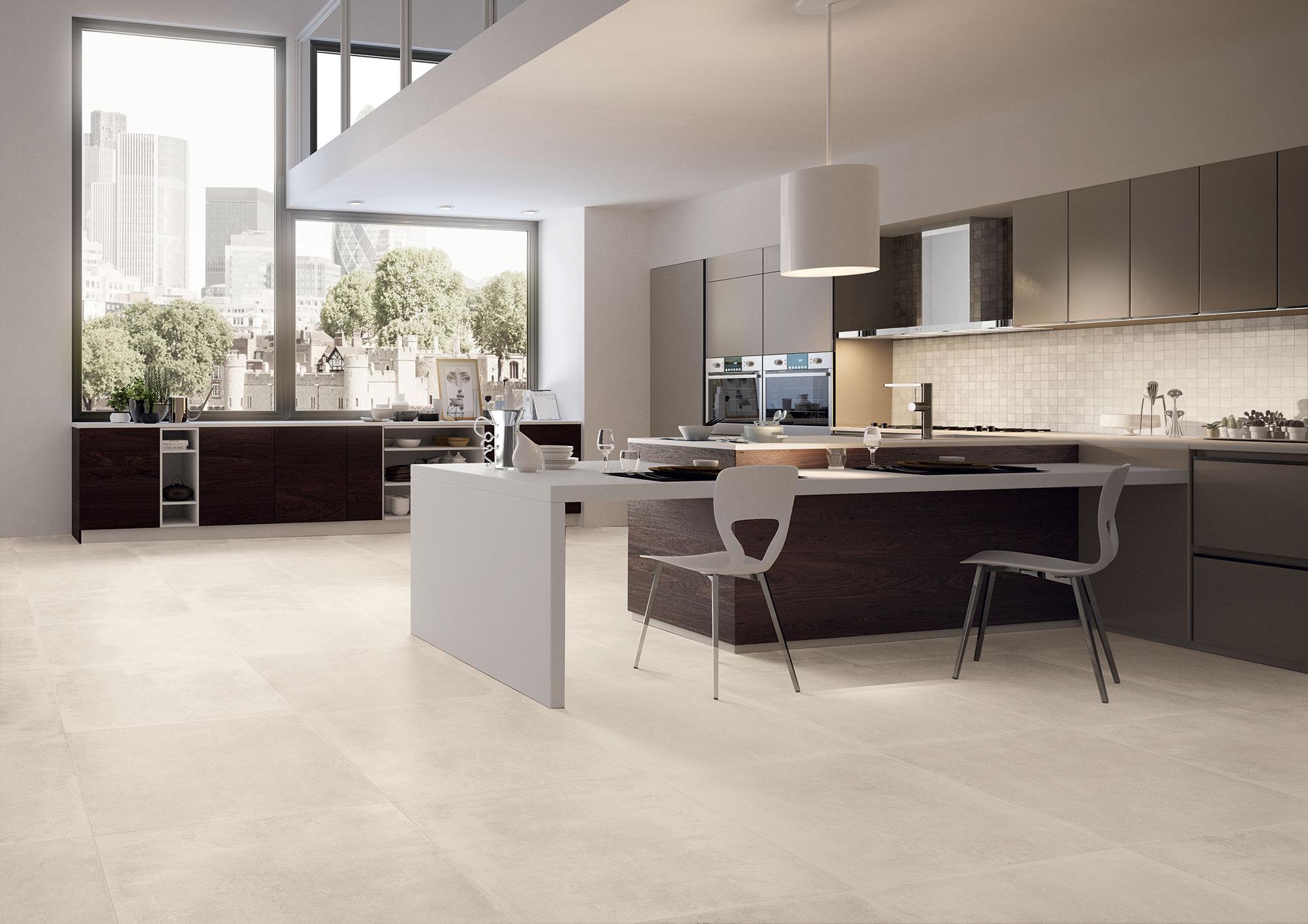 Petra White Mosaico Amb Cucina M2quare